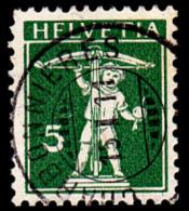 No 125 II Avec Oblitération Pleine De CHARBONNIERES - Suisse