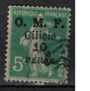 CILICIE      N°  YVERT      90     ( 1 )     OBLITERE       ( O   2/19 ) - Cilicie (1919-1921)