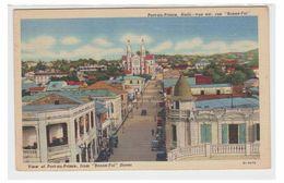 HAÏTI --PORT-AU-PRINCE --RUE BONNE FOI -- CIRCULEE -- - Postcards