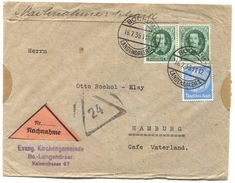 Germany WW2, Third Reich - Cover 1936. BOCHUM, Nachnahme - Briefe U. Dokumente