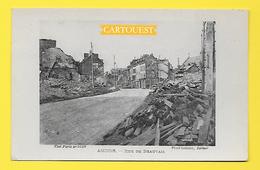 CPA 80 AMIENS Rue De Beauvais Ruines Guerre 14 - 18 - Amiens