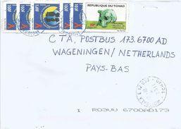 Tchad 2011 Moissala Prehistory Toumai Skull 50f AIDS SIDA HIV 100f Cover - Tsjaad (1960-...)