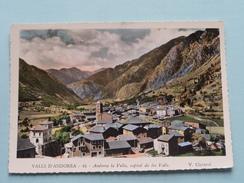 Andorra La Vella, Capital De Les Valls ( V. Claverol - 43 ) Anno 19?? ( Zie Foto's ) ! - Andorre