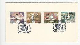 FDC Card * Portugal * Ano Internacional Da Mulher * 1975 * Lisboa - FDC