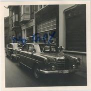 Tienen - Tirlemont :  ( Vieux Photo  9  X 9 Cm ) :   PHARMACIE   ( Old Car Mercedes )  Zie Scans Voor Detail - Lieux
