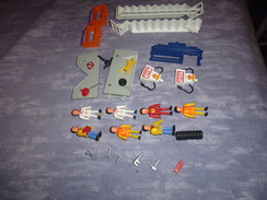 Pieces Et Figurines Circuit  Majokit-majorette.non Complet Sans Boite - Other Collections