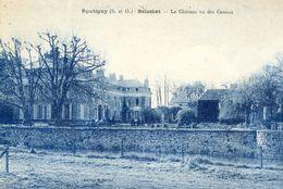95 - Boutigny - Le Chateau Vu Des Canaux - Frankrijk