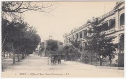 3   Suez - Office Of Suez Canal Company. - LL -  (Hotel De La Compagnie Du Canal De Suez) - Egypt - Suez