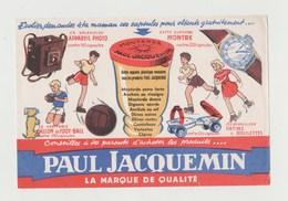 BUVARD MOUTARDE PAUL JACQUEMIN - Mostard