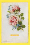 CPA KLEIN CATHARINA Fleurs ROSE Myosotis Serie 182 - Klein, Catharina