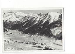 18332 - Zuoz Und Scanfs Mit Blick In Den Nationalpark (Format 10 X 15) - GR Grisons