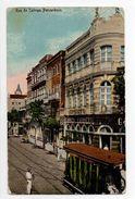 - BRESIL - CPA Ayant Voyagé PERNAMBUCO 1913 - Rua Do Calinga - - Brésil