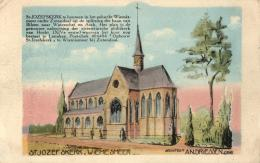 BELGIQUE - LIMBOURG - ZUTENDAAL - Eglise St Joseph - St-Jozefkerk. (illustration). - Zutendaal