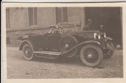 AUTO CAR VOITURE - DIATTO - PICCOLA FOTO ORIGINALE TORINO 1925 - Cars