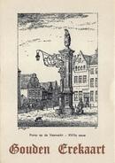 Antwerpen Anvers  Anna Bijns Instituut Everdijstraat 35 Gedragskaart Rapport Gouden Erekaart  Pomp Op De Veemarkt X 3077 - Antwerpen