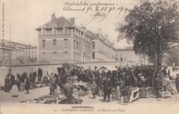 CPA - Clermont Ferrand - Le Marché Aux Puces - Clermont Ferrand