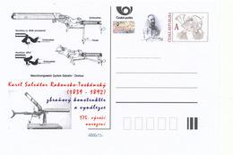 Tschech. Rep. / Ganzsachen (Pre2014/13) Karl Salvator Von Österreich-Toskana (1839-1892) Waffendesigner Und Erfinder - Factories & Industries