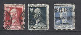 Italia. 1927. Centenario De La Muerte De A. Volta. - 1900-44 Victor Emmanuel III