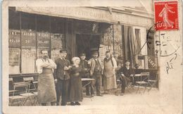 Commerce - Café - Tabac - Petit Caporal - VINCENNES  (pli) - B. Guilleminot , Boespflug Et Cie - Cafés
