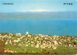 Israël - Tiberias, Partial View - Lake Of Galilée And Mt. Hermon - 1978 - Palphot Nº 8779 - Ecrite - 3039 - Israele