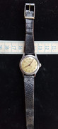 Montre Homme, Mécanique, A Remontoir, Marque RELIDE , Vintage, Fonctionne, Dans Son Jus - Watches: Old