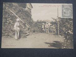 MADAGASCAR - Diégo Suarez , Camp D 'Ambré , Le Général Arrivant Au Camp , Cp Voyagé Vers La France - L 10013 - Madagascar