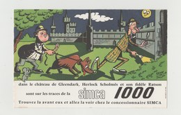 BUVARD SIMCA 1000 - Automotive