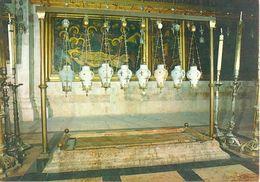 Israël - Jerusalem - Church Of The Holy Sepulchre Stone Of Unction - Ruwan Press Nº 587 - 3044 - Israele