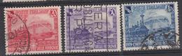 ITALIË - Michel - 1939 - Nr 620/22 - Gest/Obl/Us - Usati