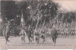 Cpa - 14 Juillet 1919 - Fêtes De La Victoire - L'Amiral Ronarch Et Ses Fusiliers Marins - Guerre 14-18 - Personnages