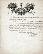 1809 - SOCIÉTÉ D'ENCOURAGEMENT POUR L'INDUSTRIE NATIONALE - Procès Verbal De La Séance Du 18 Janvier - Documentos Históricos