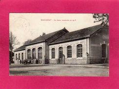 54 Meurthe Et Moselle, Baccarat, La Gare, Construite En 1913, Animée, (Z. Renard) - Baccarat