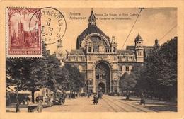 Antwerpen Anvers La Gare Centrale Centraal Station Eindstation Statie   Middenstatie Keyserlei     X 3120 - Antwerpen