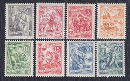 Italy Yugoslavia Trieste Zone B 1953 Definitive - Economy, MNH (**) Michel 87-94 - Trieste
