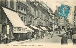 """70 LUXEUIL-LES-BAINS  Magasin """" Au Gagne Petit """" Rue Du Centre 1923 Et Les Grands Economats Français - Luxeuil Les Bains"""