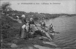 44 - GUERANDE - L'Etang De Crémeur - Lavandière - Laveuses - Lavoir - Guérande