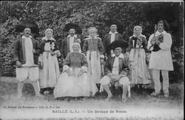 44 - SAILLE - Groupe De Noces - Sonneur - France