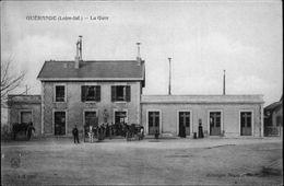 44 - GUERANDE - La Gare - Disparue - Guérande
