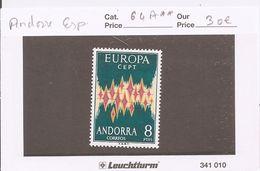 ANDORRE ESPAGNOL - Europa Y&T N°64A** - MNH - Andorre Espagnol