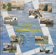 Nederland - DAVO Themaboek 7 - Kunst: Landschappen  - Inclusief Zegels - NVPH V2089-2098 - Thema's