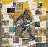 Nederland - DAVO Themaboek 10 - Vincent Van Gogh 1853-1890 - Inclusief Zegels - NVPH V2142-2151 - Temas