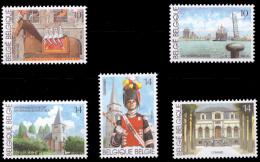 Belgium 2377/81** Tourisme  MNH - Belgique