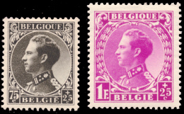 Belgium 0390+92* Léopold III  H - Belgique