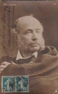 CPA PHOTO PORTRAIT Musicien HENRI VIEUXTEMPS  Compositeur  VIOLONISTE BELGE Timbre 1910 - Music And Musicians