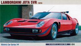 Lamborghini Jota SVR 1975 1/24 ( Hasegawa ) - Cars