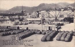 """Nice Le Port De Commerce Le """" Jeanine """" Est à Quai Venu D'un Port Normand Circulée En 1948 - Transport (sea) - Harbour"""