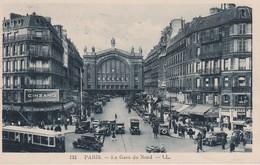 FRANCE CARTE POSTALE DE PARIS GARE DU NORD - Pariser Métro, Bahnhöfe