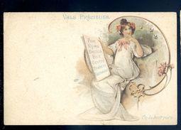 Cpa Publicité -- Vals Précieuses -- On La Boit Pure   Sep17- 66 - Publicité