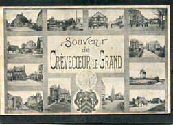 CPA - Souvenir De CREVECOEUR LE GRAND - Crevecoeur Le Grand