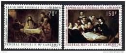 Cameroun  PA N° 169 / 70  XX  Tableaux De Rembrandt, La Paire Sans Charnière TB - Kamerun (1960-...)